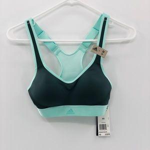 Adidas Mint Gray Sports Bra